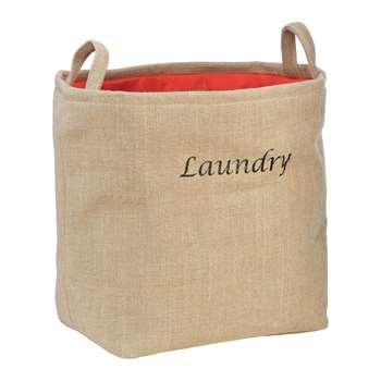 Premier Housewares Laundry Bag - Natural 29 x 34cm