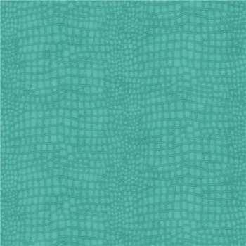 Premier Turquoise Crocodile Wallpaper