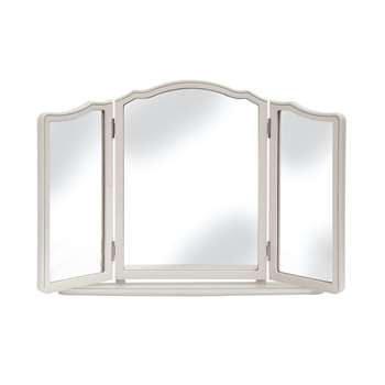 Provencale Dove Grey Dressing Table Mirror(Width 80cm)