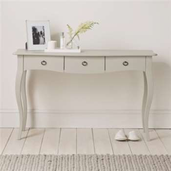 Provence Console Table - Pale Grey (H75 x W121 x D45)