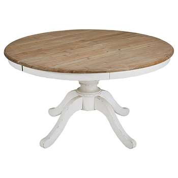 PROVENCE Round Extendable Dining Table (76 x 140-190cm)