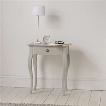 Provence Side Table - Pale Grey (Width 59cm)