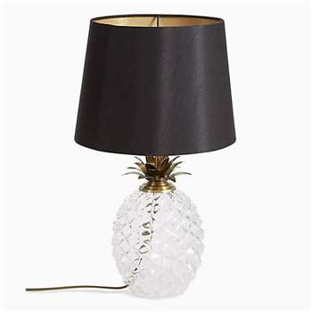 Puerto Table Lamp, Black/Gold (Height 46cm)