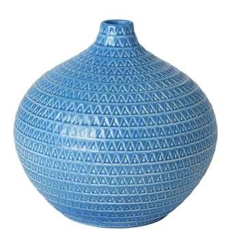 Purity Textured Onion Vase (19 x 19cm)