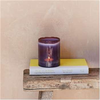 Purple Fade Tea Light Holder (11 x 9cm)