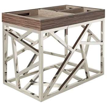 Puzzle Table - Brown (65 x 80cm)