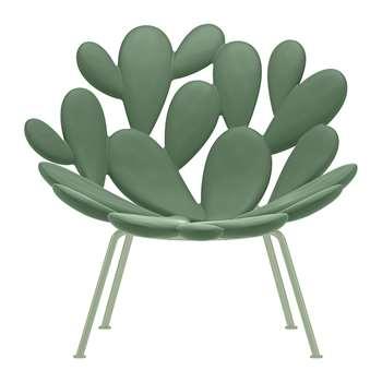 Qeeboo - Filicudi Chair - Balsam Green (H85 x W93 x D72cm)