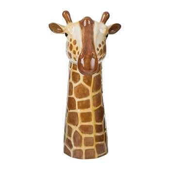 Quail Ceramics - Ceramic Giraffe Vase - Large (Height 28cm)