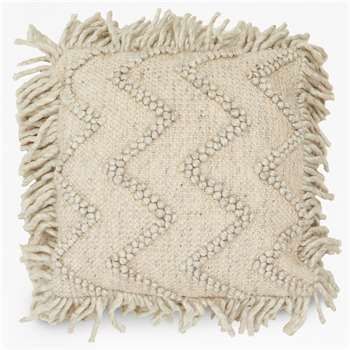 Quartz Fringe Cushion (H45 x W45cm)