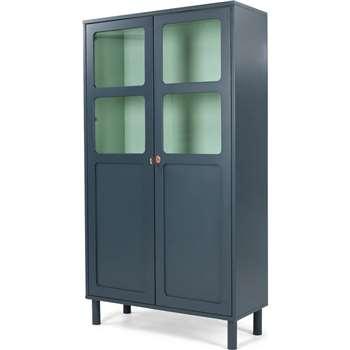Quin Cabinet, Blue (180 x 100cm)