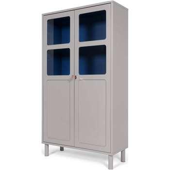 Quin Cabinet, Grey (180 x 100cm)