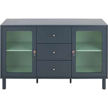 Quin Sideboard, Blue (90 x 148cm)