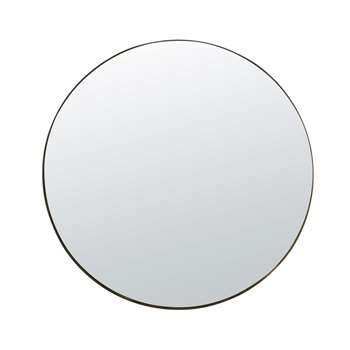 QUINN - Smoked Gold Metal Mirror (H120 x W120 x D5cm)