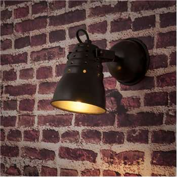 Récup Tinted Metal Wall Light (13 x 22cm)
