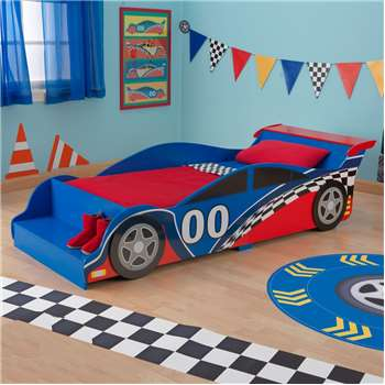 Race Car Toddler Bed for Boys & Girls