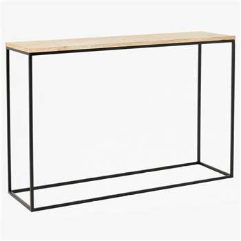 Rainbow Sandstone Console Table (H76 x W120 x D35cm)