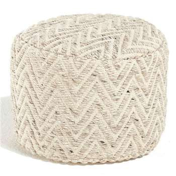 Rakti Footstool Round (30 x 40cm)