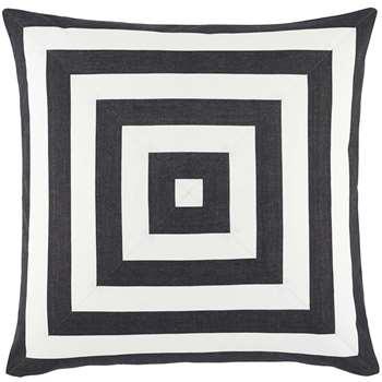Ralph Lauren Home - Kirin Cushion Cover Black (50 x 50cm)