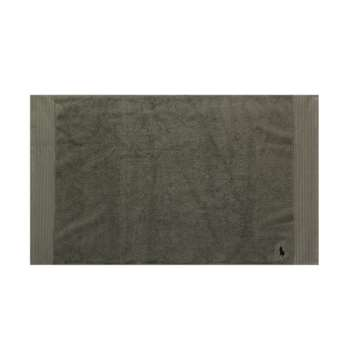 Ralph Lauren Home - Small Logo Player Bath Mat - Pebble (H55 x W90cm)
