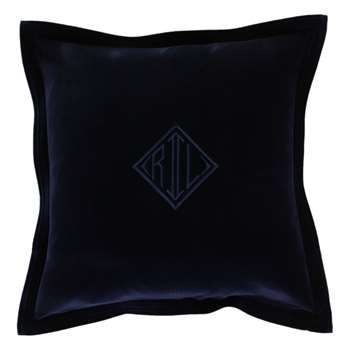 Ralph Lauren Home - Velvet Cushion Cover - 50x50cm - Navy