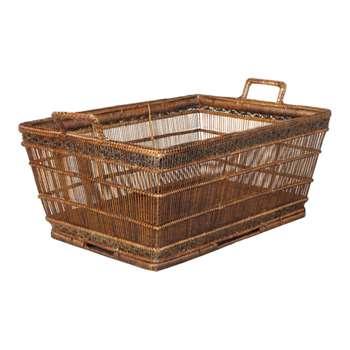 Rattan Mandalay Storage Basket (33 x 63cm)