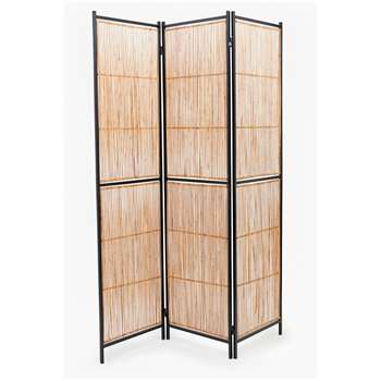Rattan Screen - Natural (H180 x W138 x D5cm)