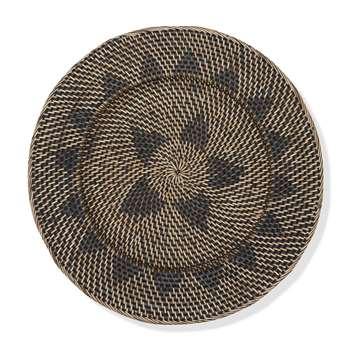 Rattan Woven Basket Wall Art Small (44 x 44cm)