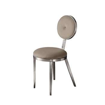 Ravello Dining Chair Silver  - Cedar (H90 x W42 x D55cm)