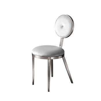 Ravello Dining Chair Silver - Silver (H90 x W42 x D55cm)