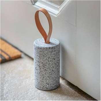 Raw Granite Doorstop (H15 x W8 x D8cm)