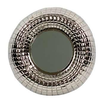 Ray mirror silver (Diameter 51cm)