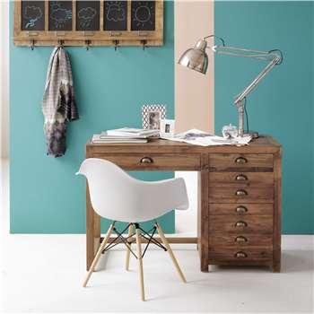 Reclaimed Pine Desk (H81 x W122 x D55cm)