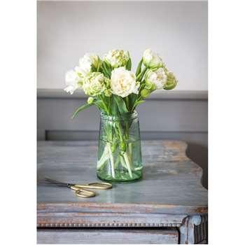 Recycled Glass Tulip Vase (17.5 x 11cm)
