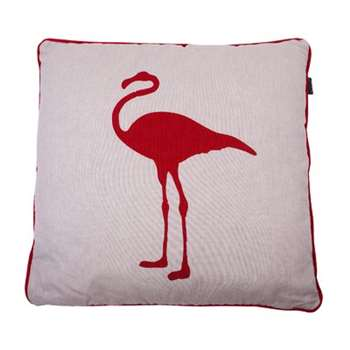 Red Flamingo Cushion Cover (50 x 50cm)