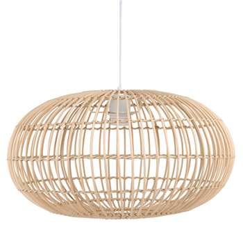 REED Bamboo Pendant (H122.5 x W48 x D48cm)