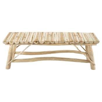REFUGE teak bench (40 x 120cm)