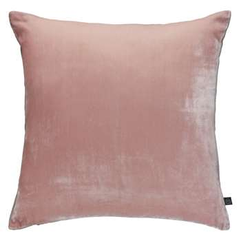 Habitat Regency Velvet Cushion - Dusty Pink (H45 x W45cm)
