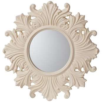 Regis Mirror Cream (H66 x W66 x D3cm)