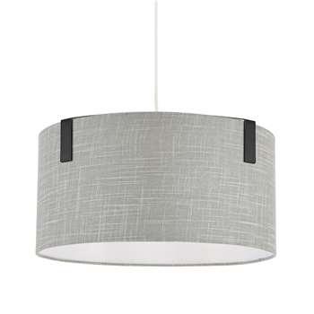 Richfield Pendant Light Shade Gunmetal Grey (H20 x W40 x D40cm)
