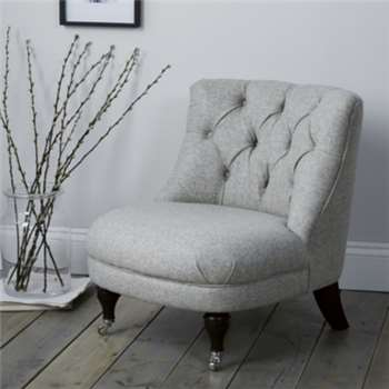 Richmond Tub Chair Wool - Light Grey Wool