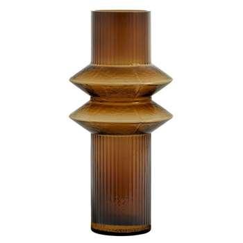Rilla Vase Amber (H32 x W15 x D15cm)