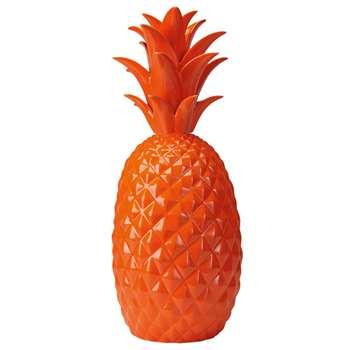 RIO Orange ceramic pineapple figurine (44 x 19cm)