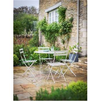 Rive Droite Bistro Set, Large in Clay - Steel (71 x 50cm)