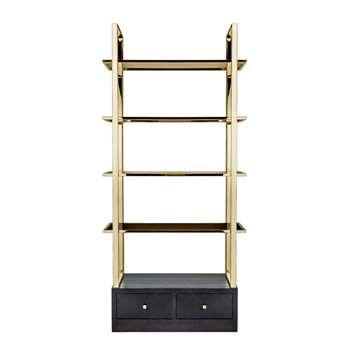 Rive Gauche Bookcase (H215 x W102 x D45cm)