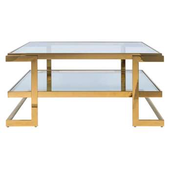 Rive Gauche Coffee Table (H46 x W100 x D100cm)