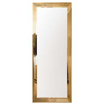 Rive Gauche Mirror - Long (H219 x W86 x D10cm)