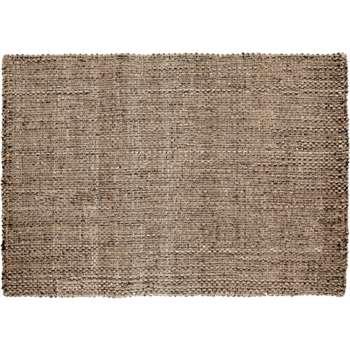 Riya Woven Jute Rug, Natural (120 x 170cm)