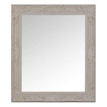 RIZZO Paulownia Mirror in Beige (H73 x W63cm)