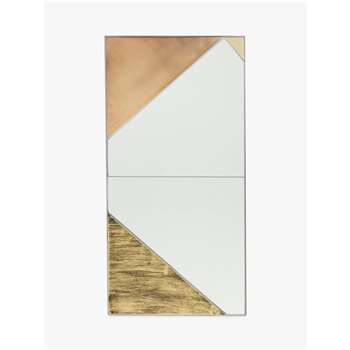 Roar + Rabbit for west elm Inifinity Panel 1 Mirror (H96 x W46 x D1.5cm)