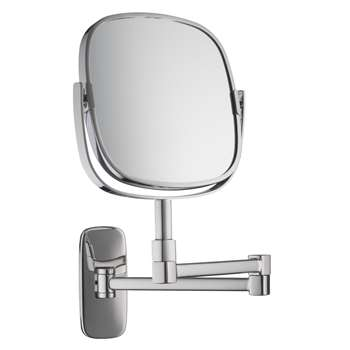 Robert Welch Bathroom Burford Extendable Magnifying Wall Mirror